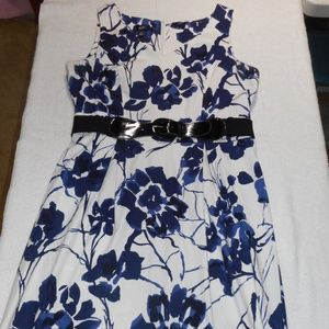 ~AGB~ Beautiful Colorful Floral Summer Dress Sz 16